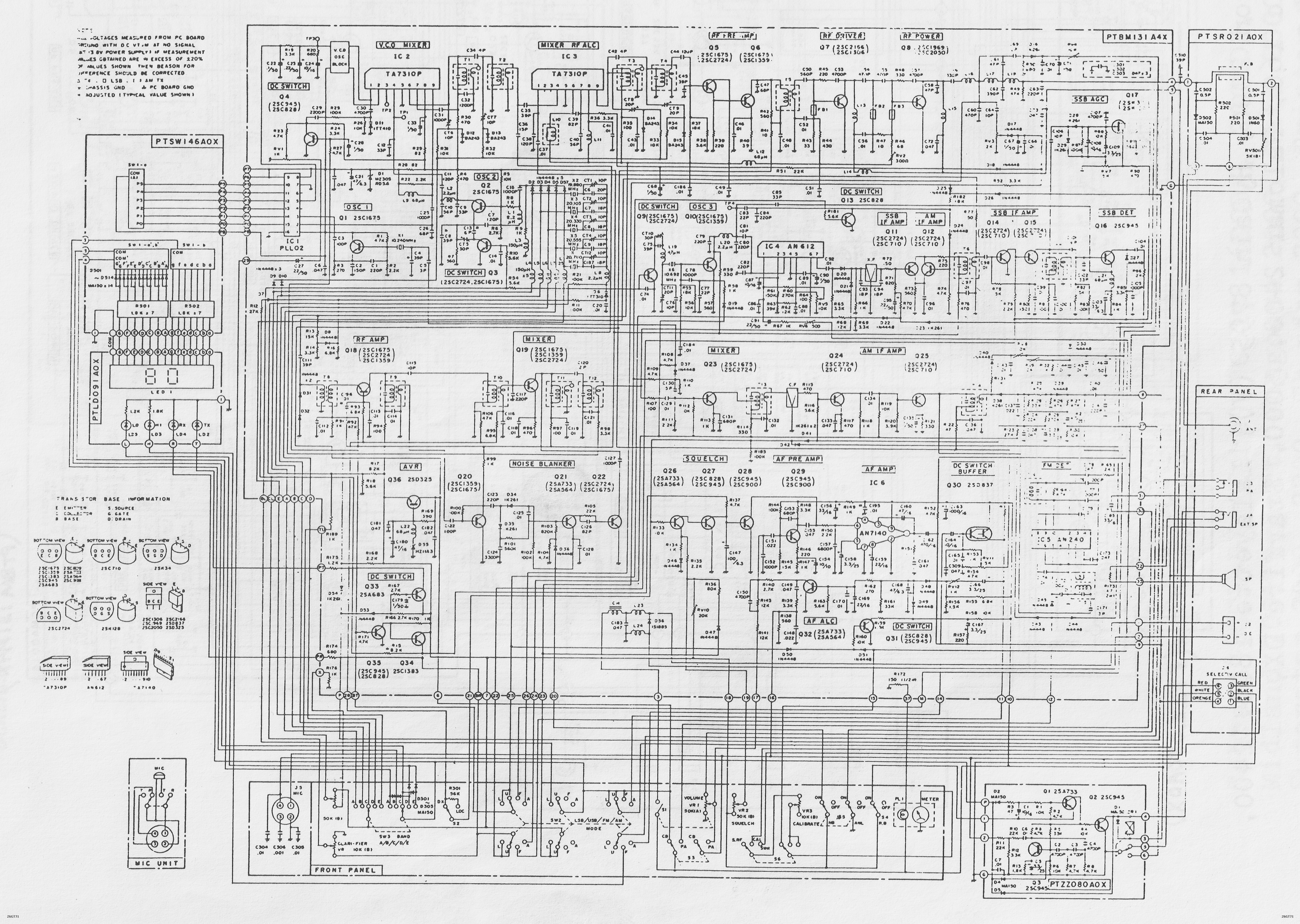 g7pvs radio data rh staffordengineeringsystems co uk Schematic Diagram Example HVAC Diagrams Schematics